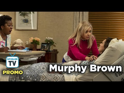 """Murphy Brown 11x08 Promo """"The Coma and the Oxford Comma"""""""