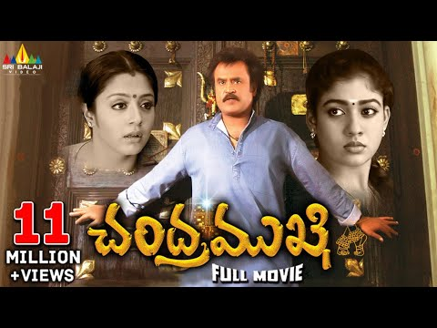 Video Chandramukhi Telugu Full Movie | Rajinikanth, Jyothika, Nayanthara | Sri Balaji Video download in MP3, 3GP, MP4, WEBM, AVI, FLV January 2017