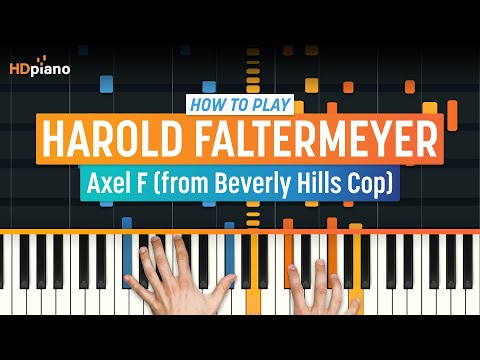 "How To Play ""Axel F (from Beverly Hills Cop)"" By Harold Faltermeyer 