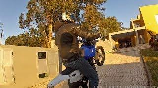 8. Yamaha TT-R 125 '04 SuperMoto -  FUN - Wheelies