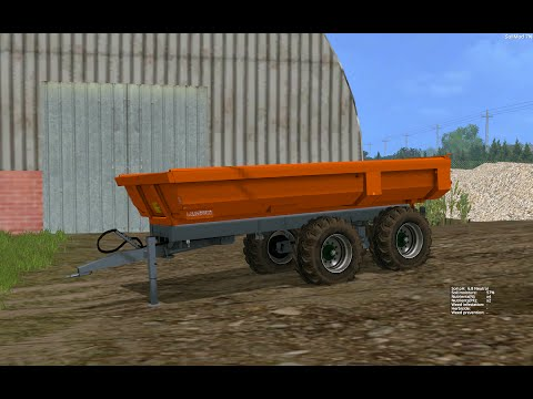 Laumetris construction trailer PTL - 10 S v1