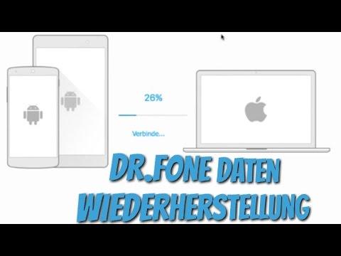 Wondershare Dr.FONE für ANDROID - Datenrettung und Wiederherstellung im Test