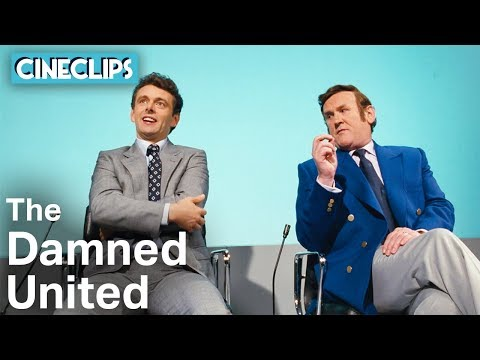 Brian Clough & Don Revie Double Interview | The Damned United | CineClips