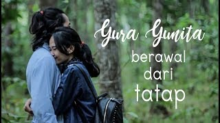 YURA YUNITA   BERAWAL DARI TATAP ( Unofficial Music Video Lyric)  Cover By SCP
