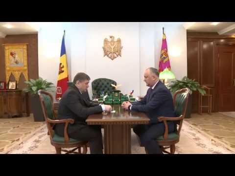 Igor Dodon a avut o întrevedere cu Andrei Neguța