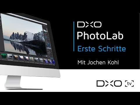 Erste Schritte mit DxO PhotoLab