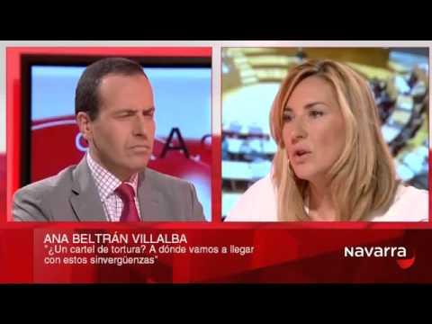 Ana Beltrán, en 'Cara a cara', de Navarra Televisión
