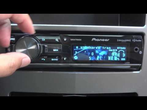 DEH - Here is a brief demonstration on the 2013 Pioneer DEH-X9500BHS CD receiver. Thank you http://www.amazon.com/Pioneer-DEH-X9500BHS-Single-In-Dash-Receiver/dp/B...