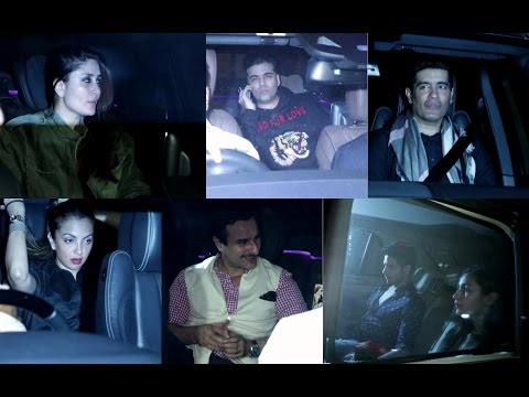 Alia Bhatt | Sidharth Malhotra | Kareena Kapoor Khan At Diwan Builders Night Party