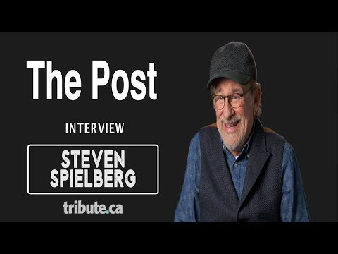 Steven Spielberg - The Post Interview