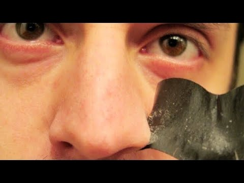 Biore Deep Cleansing CHARCOAL Pore Strips Test