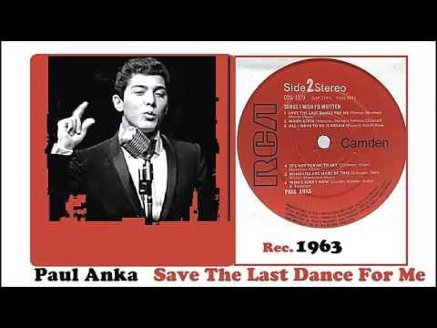 Paul Anka - Save The Last Dance For Me (Vinyl)