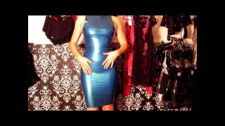 Vestido De Latex Magnific Dress Na Fetish Shiny Boutique Especializada Em Roupas De Latex E Vinil
