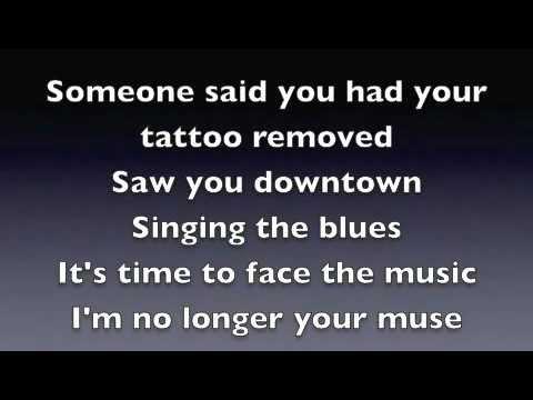 the one that got away lyrics