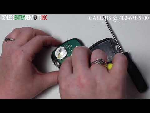 How To Replace Land Rover Discovery Key Fob Battery 1994 1995