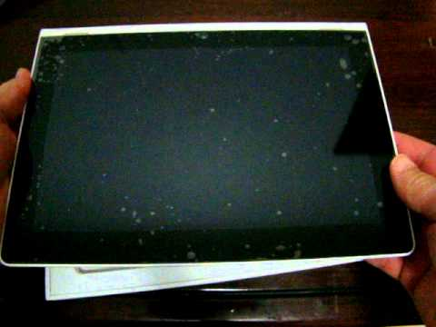 "Pipo Max M8 Tablet PC 9.4"" IPS Android 4.1 Unboxing review"