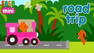 SAGO Mini Road Trip - School Bus, Train | Kid's Best App iOS/Android - Full HD Video for Baby full download video download mp3 download music download