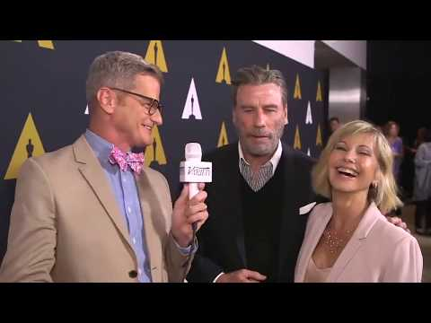 Olivia Newton-John, John Travolta & Grease Cast: Variety (August 15, 2018)