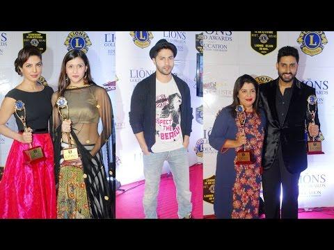 Abhishek Bachchan, Varun Dhawan, Priyanka Chopra & Others At 21st Lions Gold Awards Night
