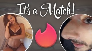 Video Trying TINDER with 15,000 People Watching LIVE MP3, 3GP, MP4, WEBM, AVI, FLV Maret 2018