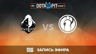Faceless vs iG, Dota Pit S5 LAN, Нижняя сетка, 3 Раунд [v1lat, Maelstorm]