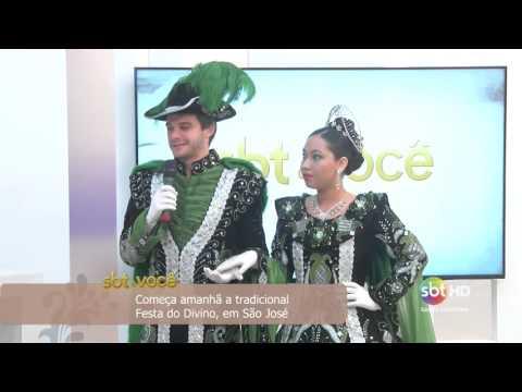 Começa amanhã a tradicional Festa do Divino, em São José