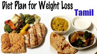 1900 Calories Diet for Weight Loss - Tamil