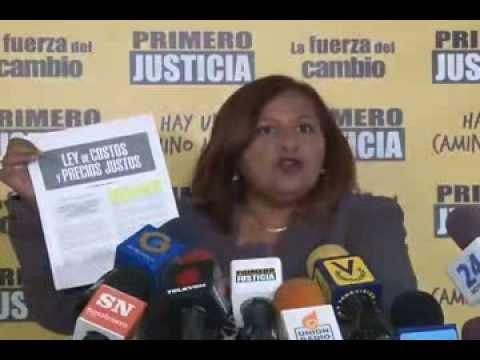 Dinorah Figuera: Nicolás Maduro tiene un doble discurso con el tema de la corrupción