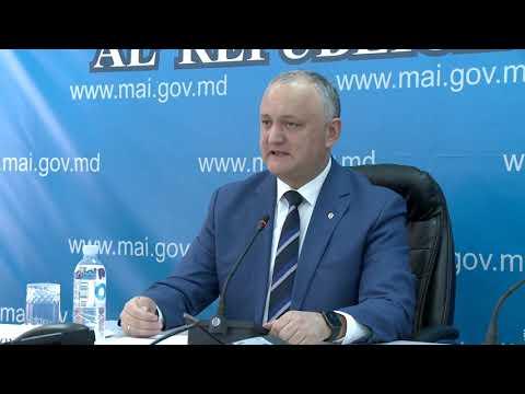 Igor Dodon a prezidat ședința ordinară a Centrului unic de comandă pentru gestionarea crizei provocate de coronavirus