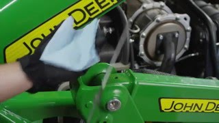 8. How To Change Your Engine Oil and Filter - John Deere Compact Utility Tractors