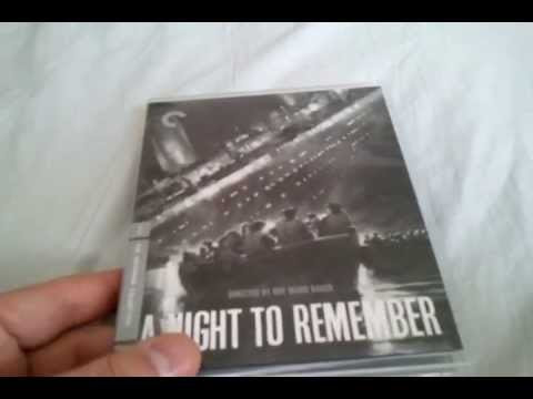 A Night To Remember (1958) - Criterion Collection Blu Ray Review and Unboxing