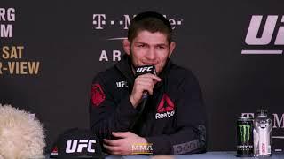 Video UFC 219: Khabib Nurmagomedov Post-Fight Press Conference - MMA Fighting MP3, 3GP, MP4, WEBM, AVI, FLV November 2018