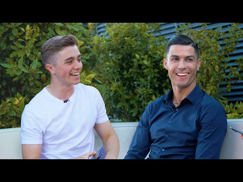Face to face with cristiano Ronaldo for 8 minutes