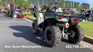 8. 2019 Honda FourTrax Rancher 4x4 DCT EPS