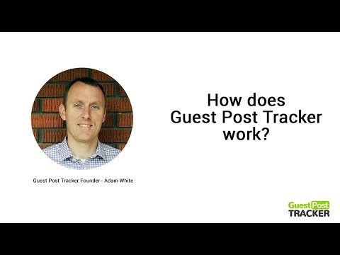 Guest Post Tracker - Guest Posting Sites & Software