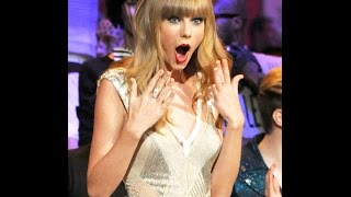 """Let's go ahead and review a collection of T-Swift's best """"I can't believe ... Taylor's surprise face is like .... Here, a collection of..."""