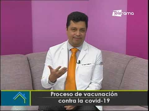 Proceso de vacunación contra la covid-19