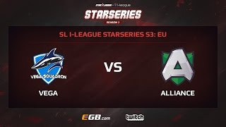 [MUST SEE] Vega Squadron vs Alliance, Game 1, SL i-League StarSeries Season 3, EU