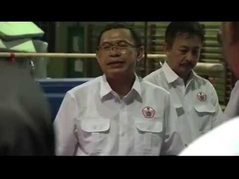 Kunjungan Ketua Kontingen DKI Djamhuron Ke cabor Taekwondo