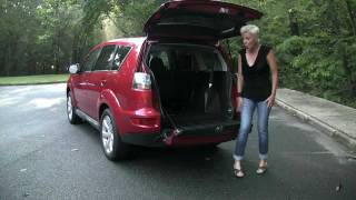 RoadflyTV - 2011 Mitsubishi Outlander GT Test Drive&Car Review