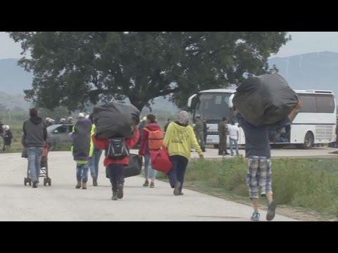 Το ΑΠΕ-ΜΠΕ στην επιχείρηση εκκένωσης της Ειδομένης