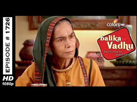 Balika Vadhu - ?????? ??? - 30th October 2014 - Full Episode (HD) 30 October 2014 09 PM