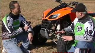 8. ATV Television - 2003 Kawasaki KFX700 Test
