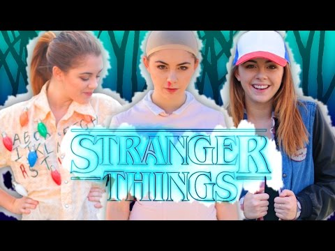 DIY STRANGER THINGS INSPIRED COSTUMES! Easy Last Minute Halloween Costumes 2016 // Jill Cimorelli