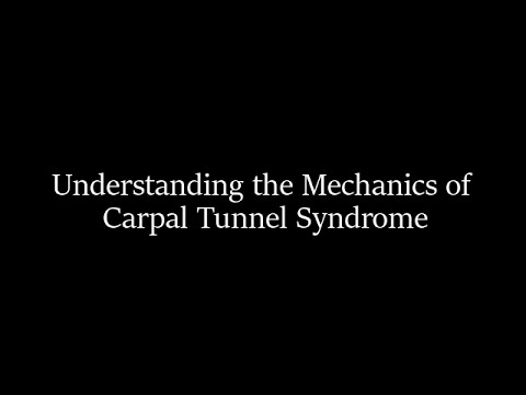 Understanding the Anatomy and Mechanics of Carpal Tunnel Syndrome with Dr. Herbold