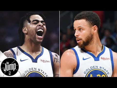 Video: Scottie Pippen's expectations for D'Angelo Russell, Stephen Curry and the Warriors | The Jump