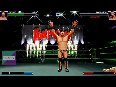 WWE Mayhem- Gameplay Walkthrough Part 2 ANDRE THE GIANT/ THE MIZ/ KEVIN OWENS  (Android/iOS)