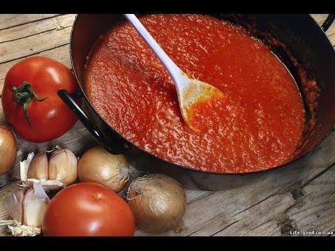♥ Соус для настоящей итальянской пиццы ♥