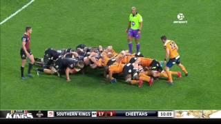 Kings v Cheetahs Rd. 17 Super Rugby Video Highlights 2017
