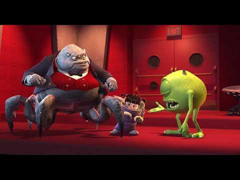 Monsters Inc. - Sulley's Scare Demo & Banishment Scene HD